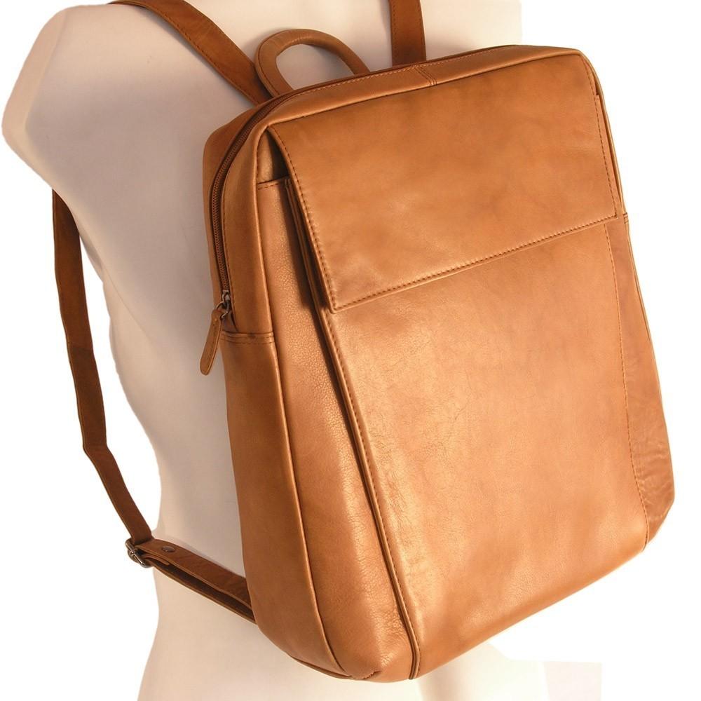 branco eleganter lederrucksack laptop rucksack 14. Black Bedroom Furniture Sets. Home Design Ideas