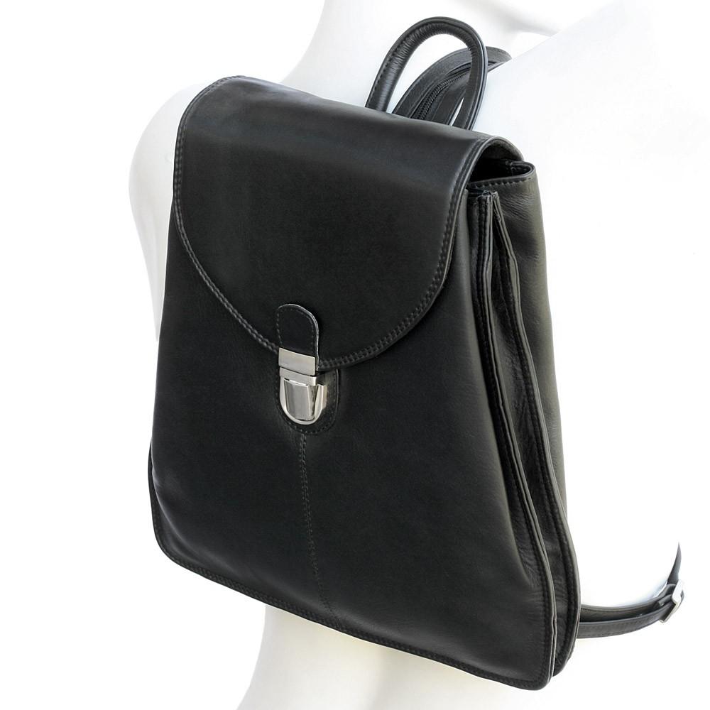 kleiner handtaschen rucksack branco br96 leder schwarz. Black Bedroom Furniture Sets. Home Design Ideas