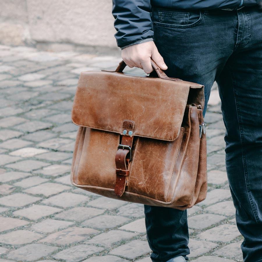 Marcels erste Lehrertasche