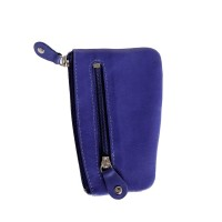 Branco - Key Wallet, Key Purse, Leather Key Case, Model-029 Blue