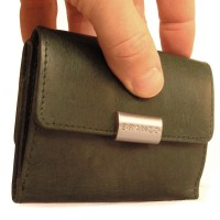 Branco - Leather Purse, Ladies Wallet, Coin Purse Small Wallet, Model-12032 Green