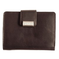 Branco - Leather Purse, Ladies Wallet, Credit Card Wallet, Model-12050 Black