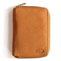 Branco - Leather Wallet, Men's Wallet, Credit Card Holder, Leather Purse, Model-12052z, Cognac-Brown