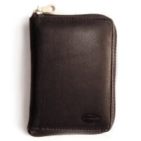 Branco - Leather Wallet, Men's Wallet, Credit Card Holder, Leather Purse, Model-12052z, Black