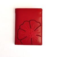 schicke damen geldb rse 22369 aus leder in rot. Black Bedroom Furniture Sets. Home Design Ideas