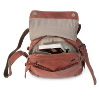 Harold's – Small Leather Rucksack / Daypack size S, Russet, Model 2230702
