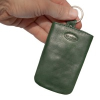 Branco - Key Wallet, Leather Key Case, Key Purse, Model-013 Green