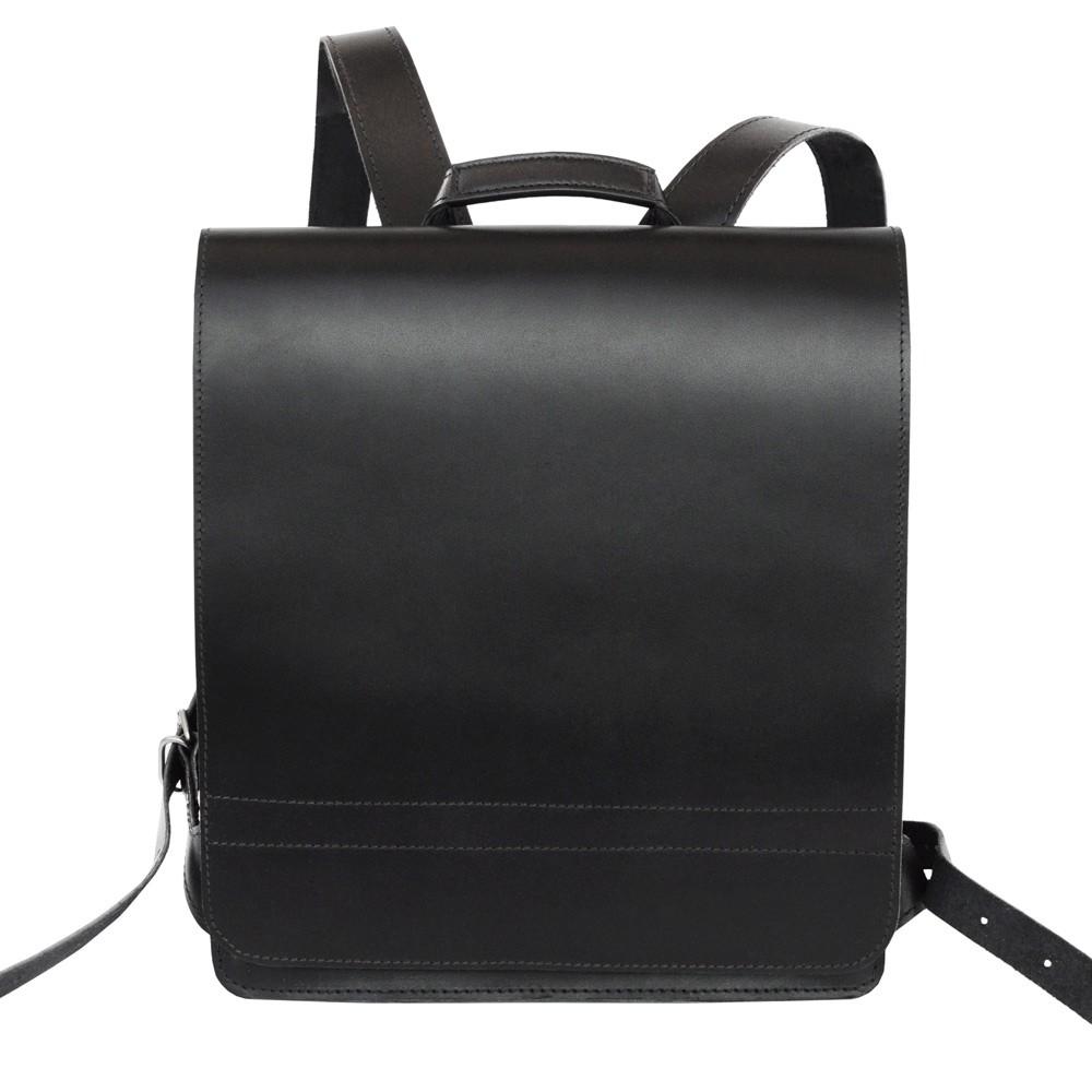 sehr gro er lehrer rucksack 670 leder schwarz xl. Black Bedroom Furniture Sets. Home Design Ideas