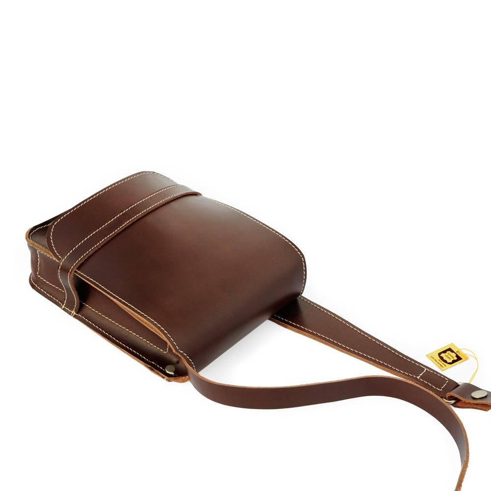 herren handtasche 684 a5 hochformat leder braun. Black Bedroom Furniture Sets. Home Design Ideas