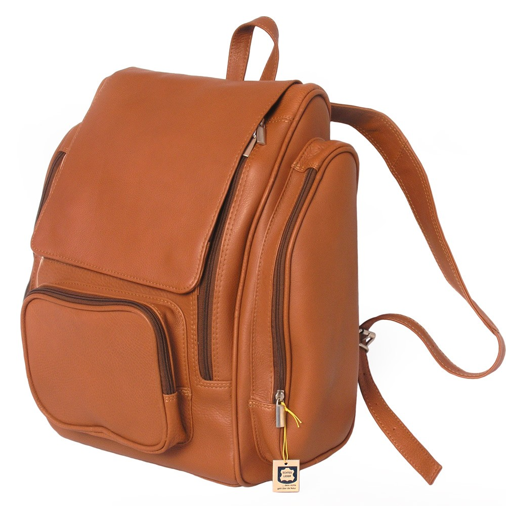 Jahn Tasche Very Large Leather Backpack Size Xl Laptop