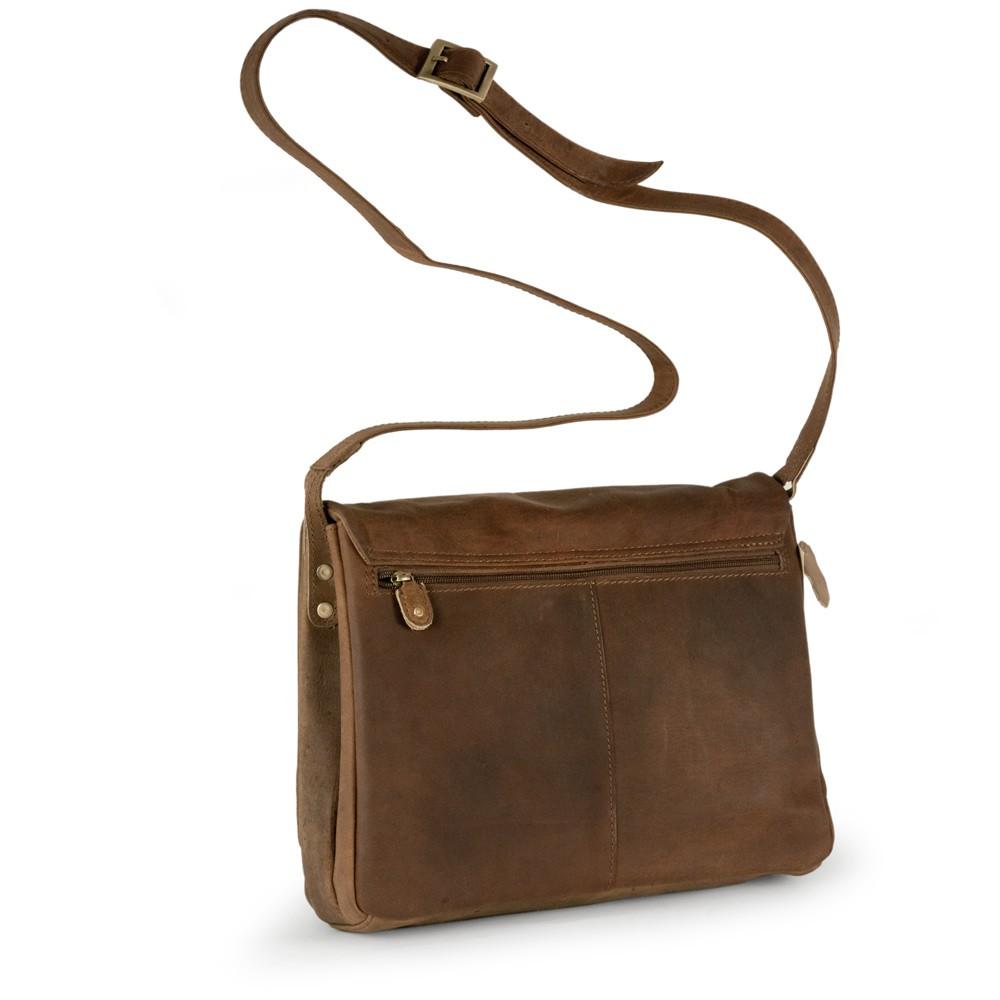 kleine damen handtasche 310303 aus leder natur braun. Black Bedroom Furniture Sets. Home Design Ideas